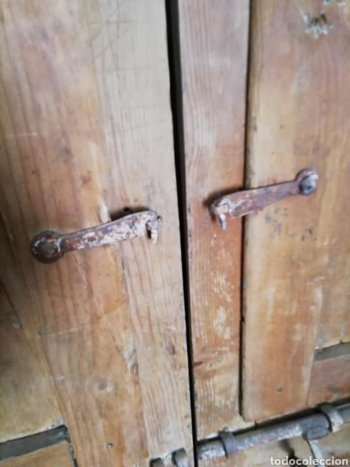 Antigüedades: 2 parejas de puertas antiguas - Foto 4 - 151240816