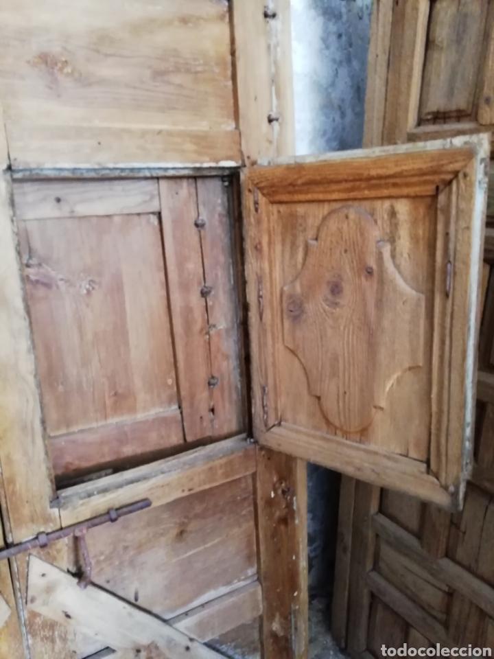 Antigüedades: 2 parejas de puertas antiguas - Foto 9 - 151240816