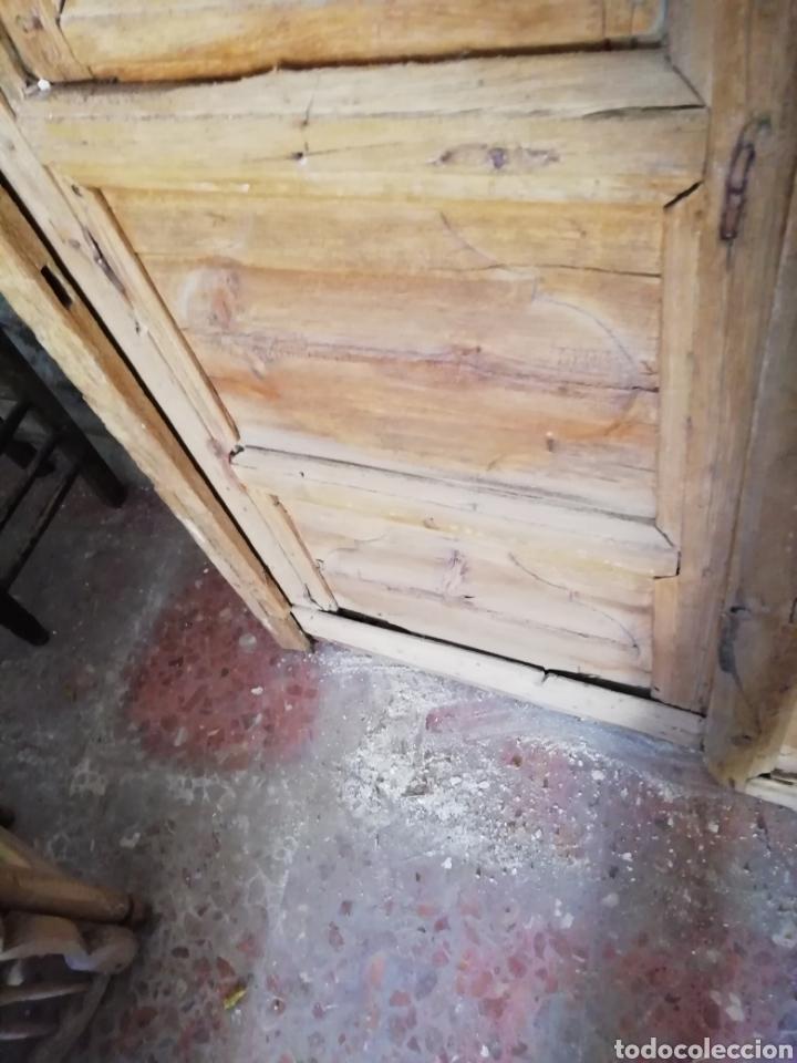 Antigüedades: 2 parejas de puertas antiguas - Foto 10 - 151240816