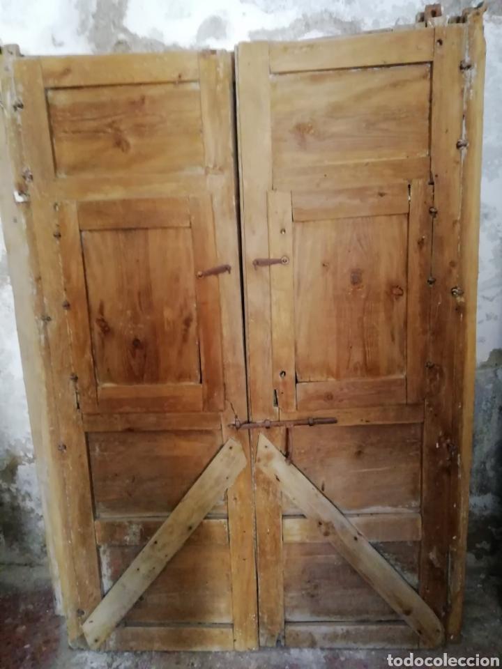 Antigüedades: 2 parejas de puertas antiguas - Foto 11 - 151240816