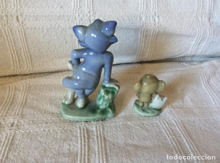 Antigüedades: Muñecos Tom y Jerry en Porcelana Inglesa. Producto Metro Golwind Mayer - Foto 4 - 151243578
