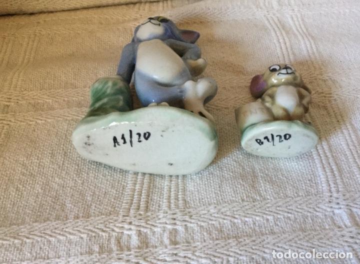 Antigüedades: Muñecos Tom y Jerry en Porcelana Inglesa. Producto Metro Golwind Mayer - Foto 7 - 151243578