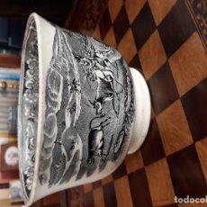 Antigüedades: GRAN CUENCO DE LOZA DE LA FÁBRICA LA AMISTAD, CARTAGENA, FINALES S. XIX . Lote 151268042