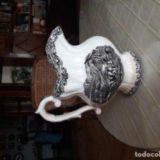 Antigüedades: JARRA DE LOZA BLANCA DE LA FÁBRICA LA AMISTAD, CARTAGENA. Lote 151272490