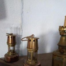Antigüedades: LOTE DE DOS QUINQUE. Lote 151284810