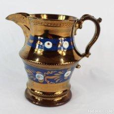 Antigüedades: JARRA DE BRISTOL S XIX COLECCIONISTAS, PERFECTO ESTADO. Lote 151358082