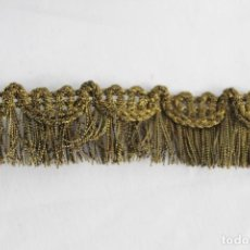 Antigüedades: 16A PASAMANERÍA EN HILOS DE ORO METÁLICA S XIX . Lote 151359486