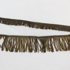 Antigüedades: 19A PASAMANERÍA EN HILOS DE ORO METÁLICA S XIX . Lote 151360494