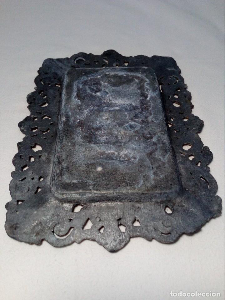 Antigüedades: CENICERO DE PLOMO LABORATORIO SUR DE ESPAÑA MÁLAGA (FRAGUA VULCANO / VELAZQUEZ) AÑOS 50 - Foto 10 - 151372658
