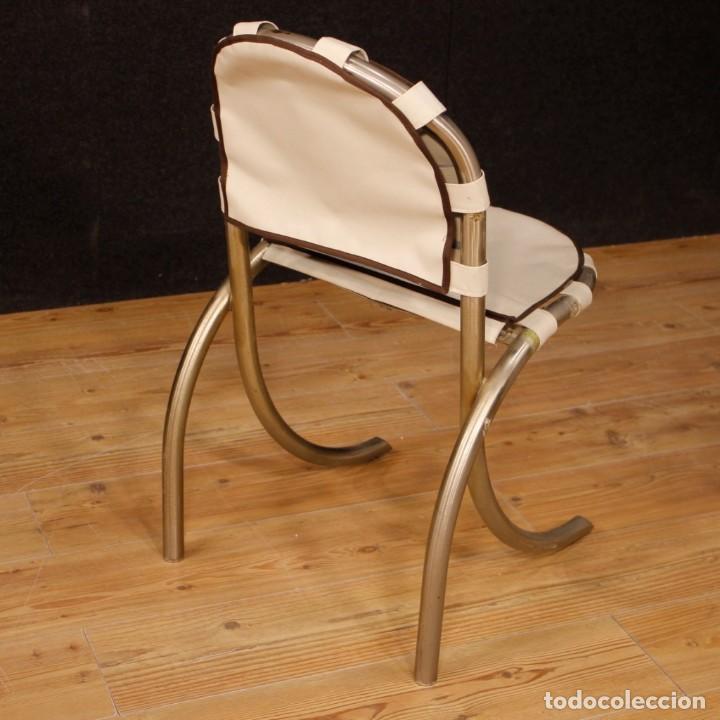 Antigüedades: Grupo de 4 sillas en design de Bazzani del siglo XX - Foto 3 - 151374718