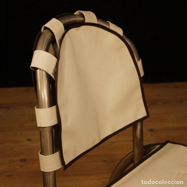 Antigüedades: Grupo de 4 sillas en design de Bazzani del siglo XX - Foto 4 - 151374718