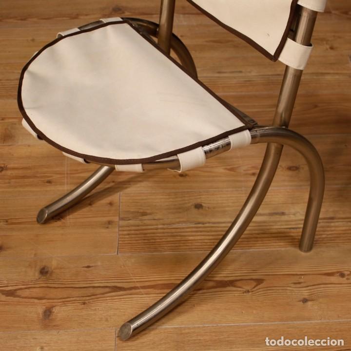 Antigüedades: Grupo de 4 sillas en design de Bazzani del siglo XX - Foto 7 - 151374718