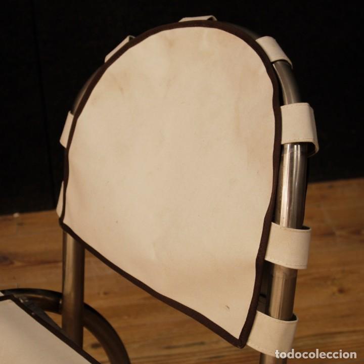 Antigüedades: Grupo de 4 sillas en design de Bazzani del siglo XX - Foto 10 - 151374718