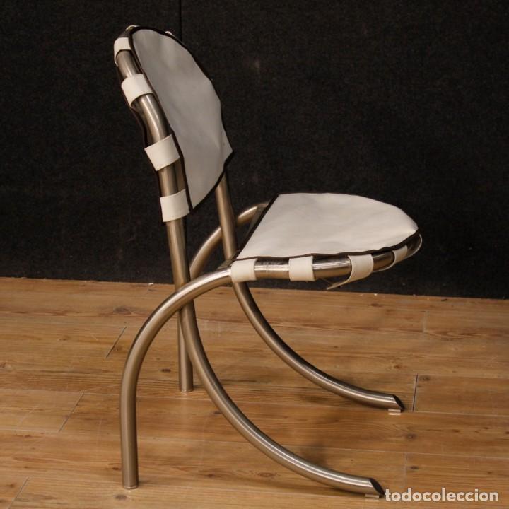 Antigüedades: Grupo de 4 sillas en design de Bazzani del siglo XX - Foto 11 - 151374718