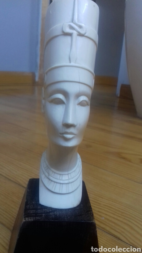 FIGURA DE MARFIL REINA EGIPCIA (Antigüedades - Varios)