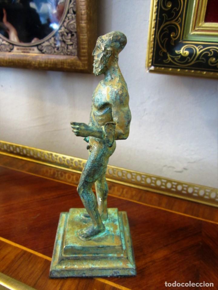 Antigüedades: PRECIOSAS FIGURAS GRIEGAS DE BRONCE - Foto 2 - 151381138
