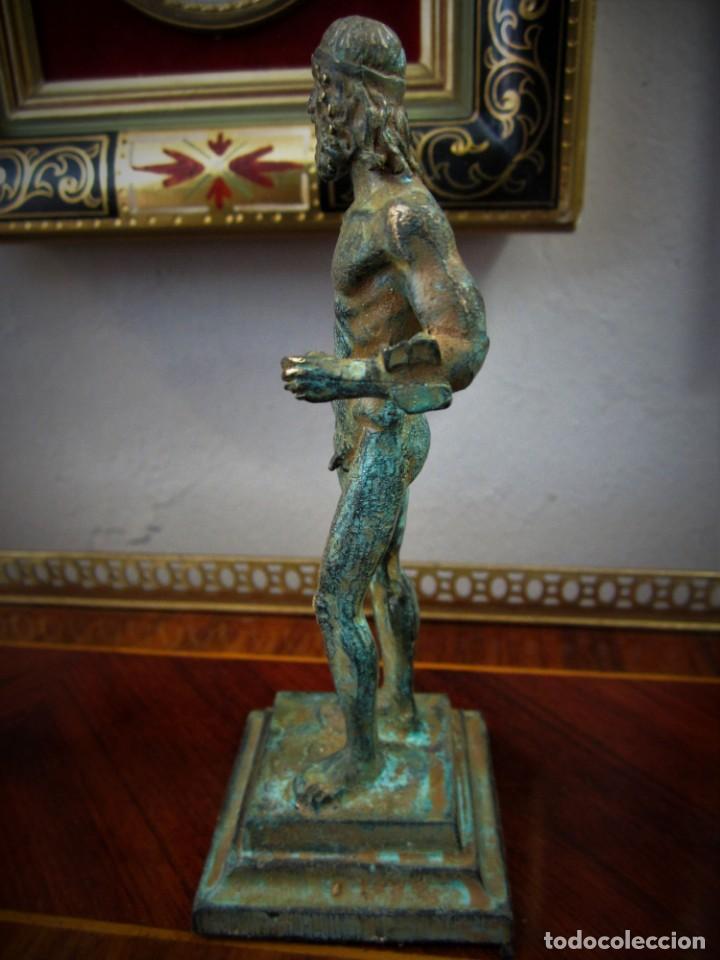 Antigüedades: PRECIOSAS FIGURAS GRIEGAS DE BRONCE - Foto 5 - 151381138