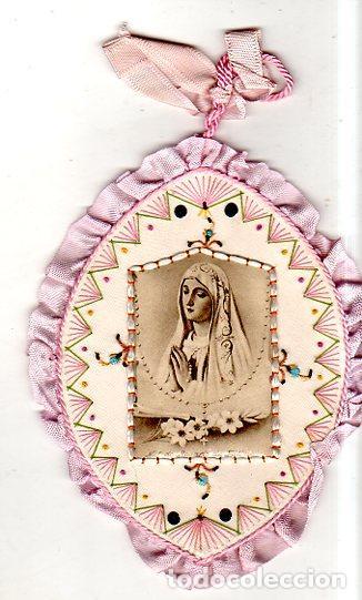 ESCAPULARIO. MEDIDAS : 14 X 11 CM APROX. (Antigüedades - Religiosas - Escapularios Antiguos)