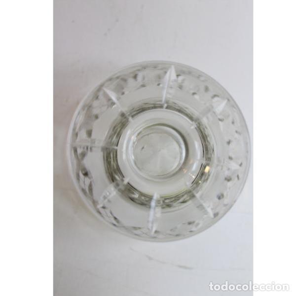 Antigüedades: Antigua bombonera de cristal de bohemia - Foto 5 - 151387898