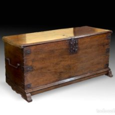 Antigüedades: ARCON EN MADERA DE NOGAL S. XVI. Lote 151403901