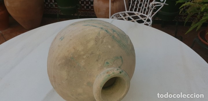 Antigüedades: ANTIGUA ANFORA, TINAJA, BOTIJA PERULERA,TRIANA, ( SEVILLA ) S. XVI - Foto 11 - 39667391