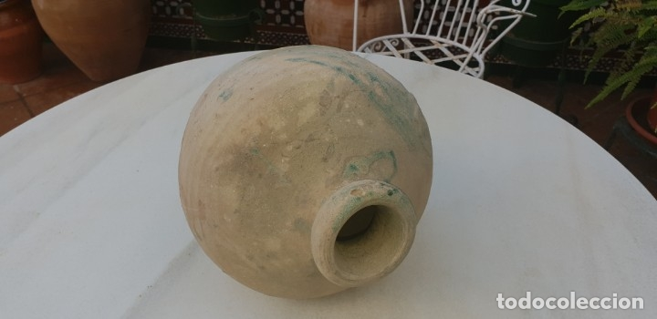 Antigüedades: ANTIGUA ANFORA, TINAJA, BOTIJA PERULERA,TRIANA, ( SEVILLA ) S. XVI - Foto 12 - 39667391