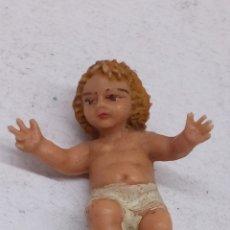 Antigüedades: FIGURITA RELIGIOSA ANTIGUA NIÑO JESÚS PARA BELÉN. Lote 151424706