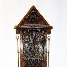 Antigüedades: CAJA BAUL LIMOSNERO ANTIGUO S XVIII ALTAR IGLESIA CAPILLA CAPILLA NOBLE . Lote 151468902