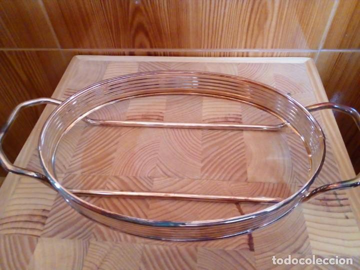 Antigüedades: BANDEJA DE ALPACA - Foto 2 - 151481246