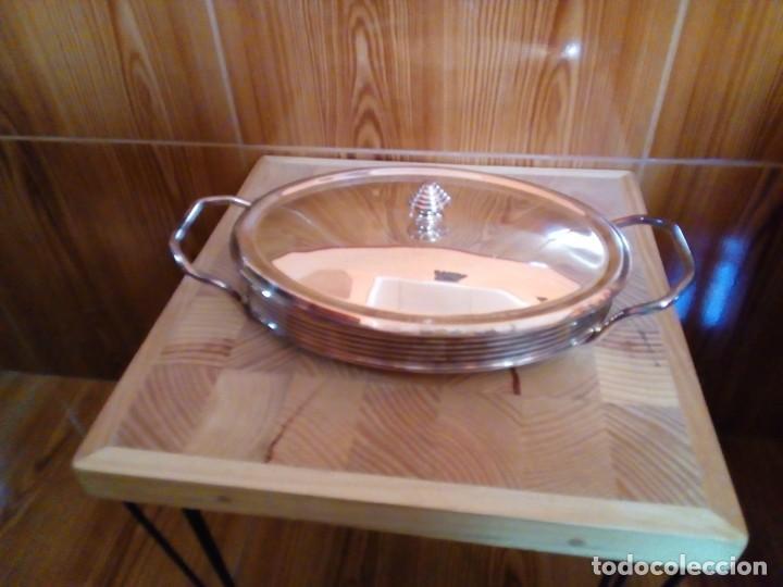 Antigüedades: BANDEJA DE ALPACA - Foto 3 - 151481246