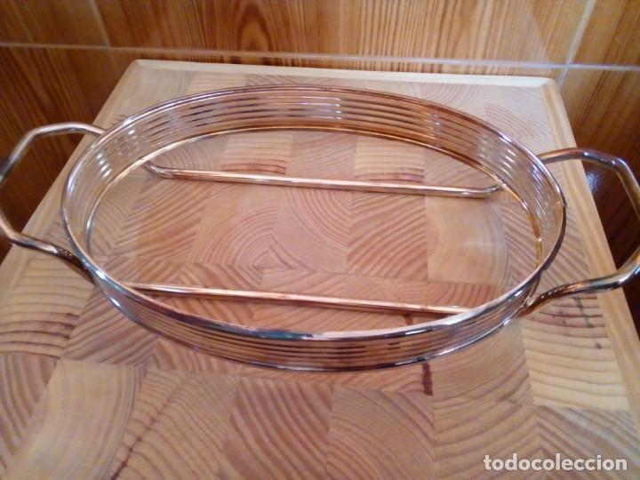 Antigüedades: BANDEJA DE ALPACA - Foto 7 - 151481246