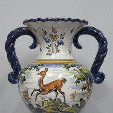 Antiquités: JARRON DE CERAMICA DE TALAVERA. SEGUNDA MITAD SIGLO XX. Lote 151494258