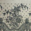 Antigüedades: ANTIGUO ENCAJE DE CHANTILLY S. XIX. Lote 151499478