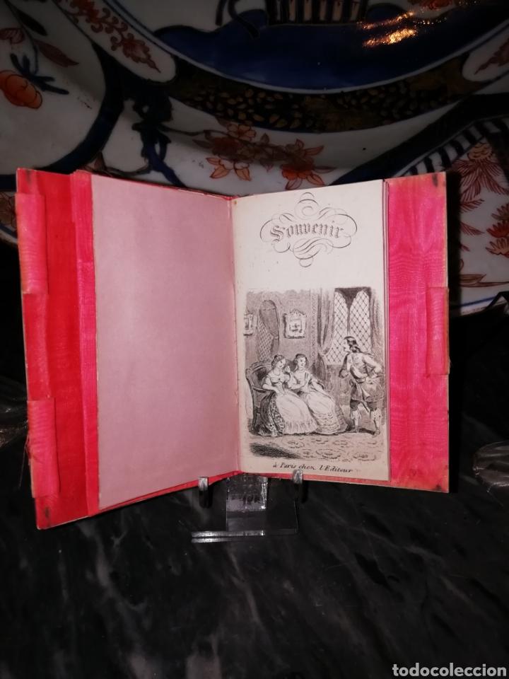 Antigüedades: Carnet de baile siglo XIX en nácar y plata - Foto 3 - 151511797