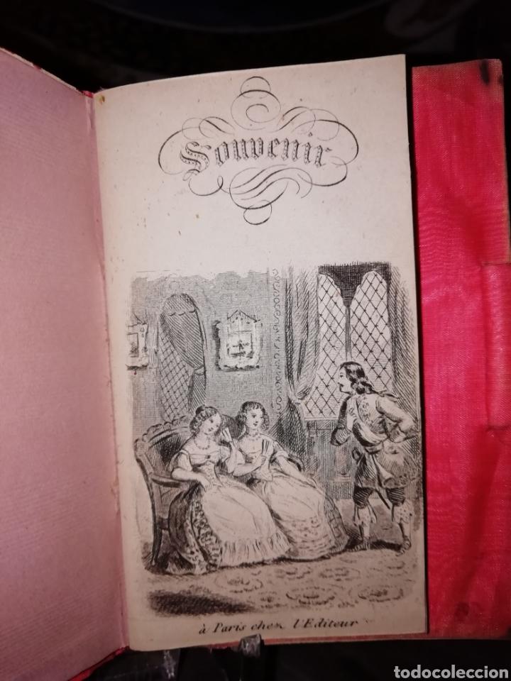 Antigüedades: Carnet de baile siglo XIX en nácar y plata - Foto 4 - 151511797
