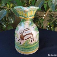 Antigüedades: CERÁMIA DECORADA: JARRA PUENTE ARZOBISPO. Lote 151513570