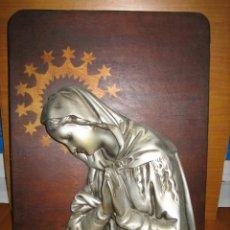 Antigüedades: ANTIGUA FIGURA RELIGIOSA DE VIRGEN. Lote 151517038
