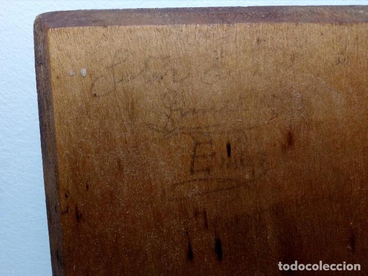 Antigüedades: ANTIGUA CARRACA O MATRACA DE MADERA SIGLO XIX (INSTRUMENTO POPULAR DE SEMANA SANTA) PARA RESTAURAR - Foto 7 - 151527602