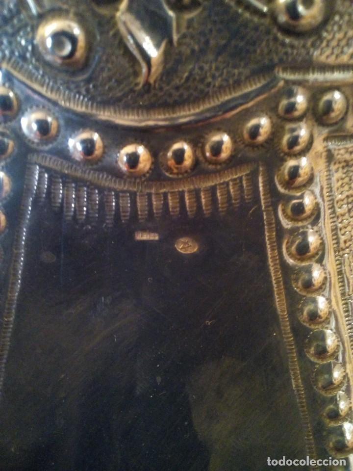 Antigüedades: Centro en plata punzonada principios de.XX platero Reyes - Foto 3 - 151556522