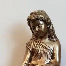 Antigüedades: ESCULTURA DE BRONCE. Lote 151563390