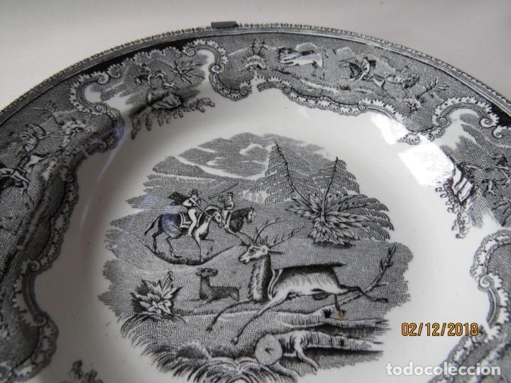 Antigüedades: ANTIGUO PLATO DE CARTAGENA DIAMETRO:23CM - Foto 2 - 151597498