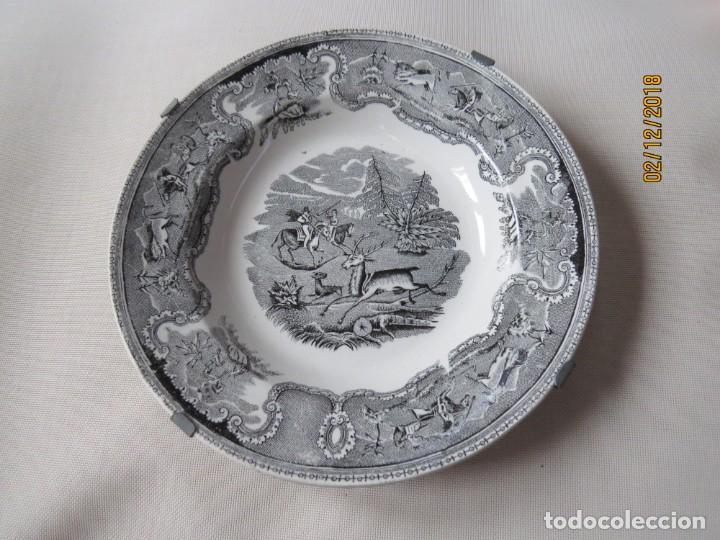 Antigüedades: ANTIGUO PLATO DE CARTAGENA. SIGLO XIX DIAMETRO:23CM - Foto 2 - 151597806