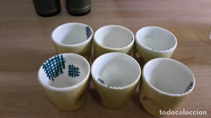 LOTE DE 6 TACITAS ANTIGUAS (Antigüedades - Porcelanas y Cerámicas - Otras)