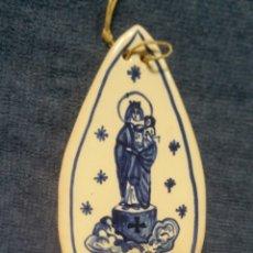 Antigüedades: BENDITERA DE CERÁMICA DE MUEL. Lote 151625840
