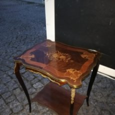 Antigüedades: IMPRESIONANTE MESA NAPOLEÓN CON MARQUETERÍA FRANCIA SIGLO XIX. Lote 151638613
