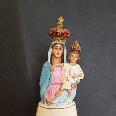 Antigüedades: FIGURA RELIGIOSA VIRGEN CON NIÑO. Lote 151669010