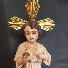 Antigüedades: FIGURA RELIGIOSA ANGELITO. Lote 151669042