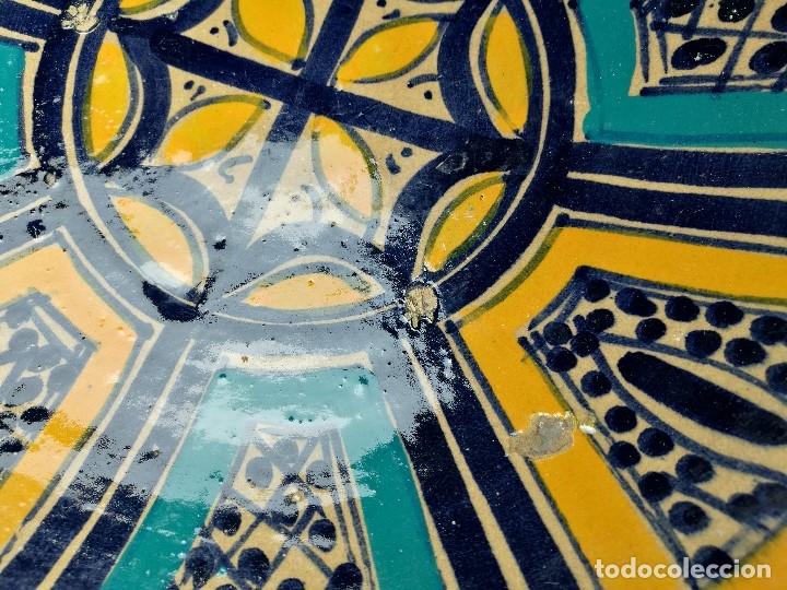 Antigüedades: CERAMICA. SEVILLA. TRIANA. PLATO GRANDE FUENTE LEBRILLO DE LOS AÑOS 20 - Foto 14 - 151687806