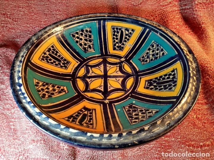 Antigüedades: CERAMICA. SEVILLA. TRIANA. PLATO GRANDE FUENTE LEBRILLO DE LOS AÑOS 20 - Foto 28 - 151687806