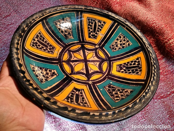 Antigüedades: CERAMICA. SEVILLA. TRIANA. PLATO GRANDE FUENTE LEBRILLO DE LOS AÑOS 20 - Foto 29 - 151687806